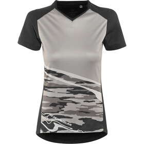 PEARL iZUMi Launch Shortsleeve Jersey Women black/black vista
